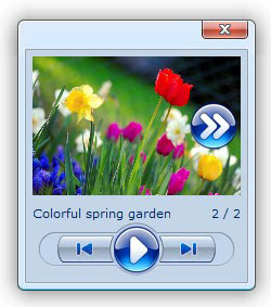 javascript photo gallery ajax dialog popup sample